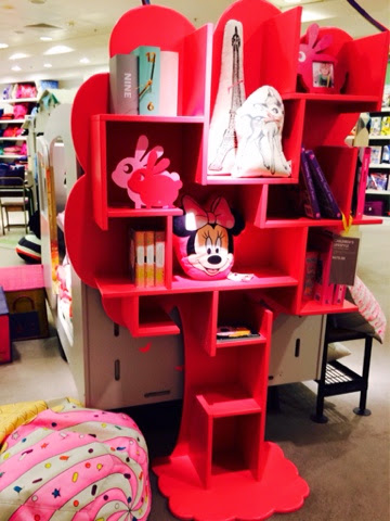 tree shaped bookcase childrens furniture Mathy by Bols Selfridges