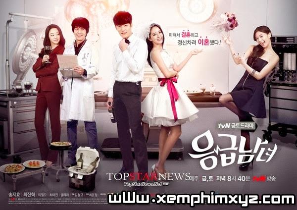"""Song Ji Hyo nghiến răng bóp cổ ngôi sao """"The Heirs"""" 2"""