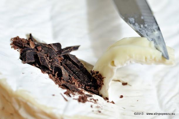 Camembert cu ciocolata