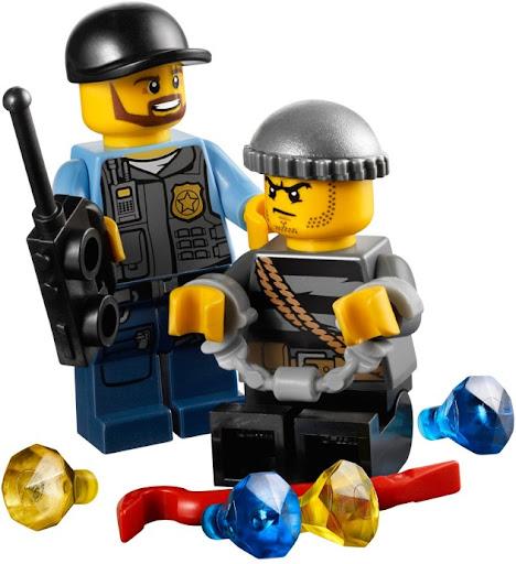 レゴ ポリス4WDバギー 60006