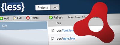 クロスプラットフォームなLessコンパイラ 「LessParser」