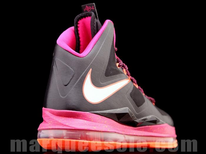 Buy Cheap Nike Lebron 10 X Floridians Grey Pink Orange