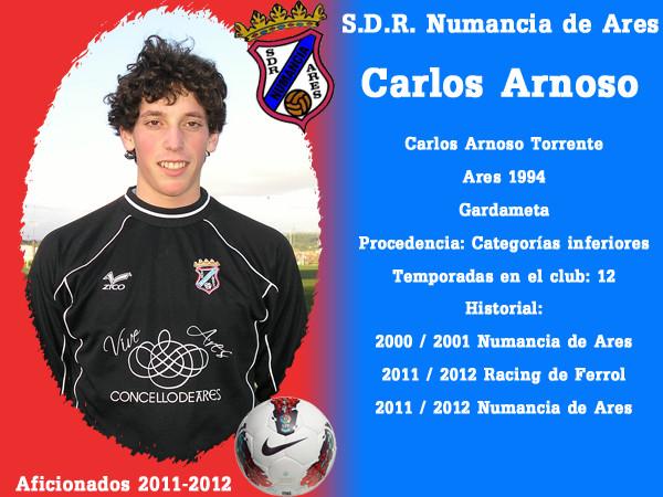 A.D.R. Numanciad de Ares. Carlos Arnoso.