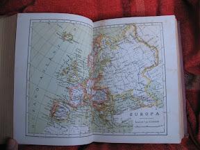 Mapa de Europa de la Época.