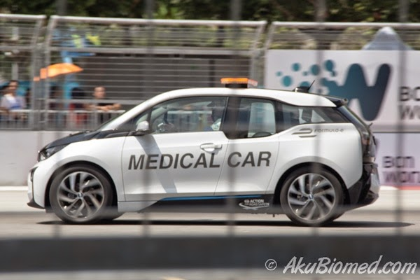 BMW i3 Safety Car