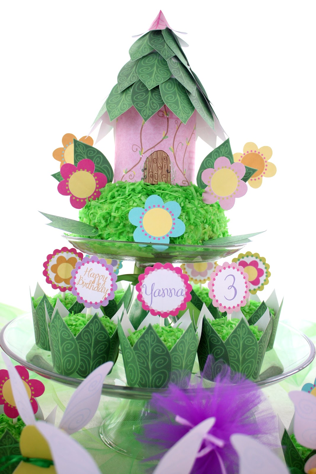 The everyday posh fairy princess garden party happy for Fairy cakes