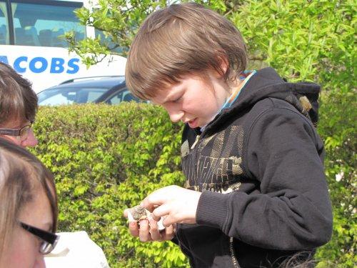 Kevin heeft een oester gevonden... of toch niet.