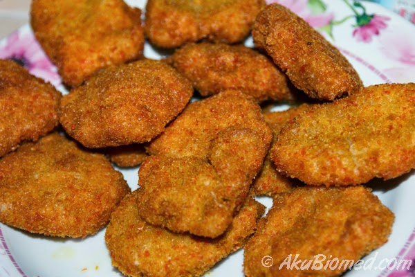 home made fish nugget