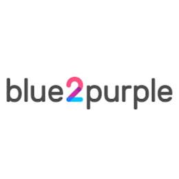 blue2purple logo