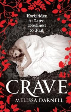 Crave by Melissa Darnell UK Book Cover