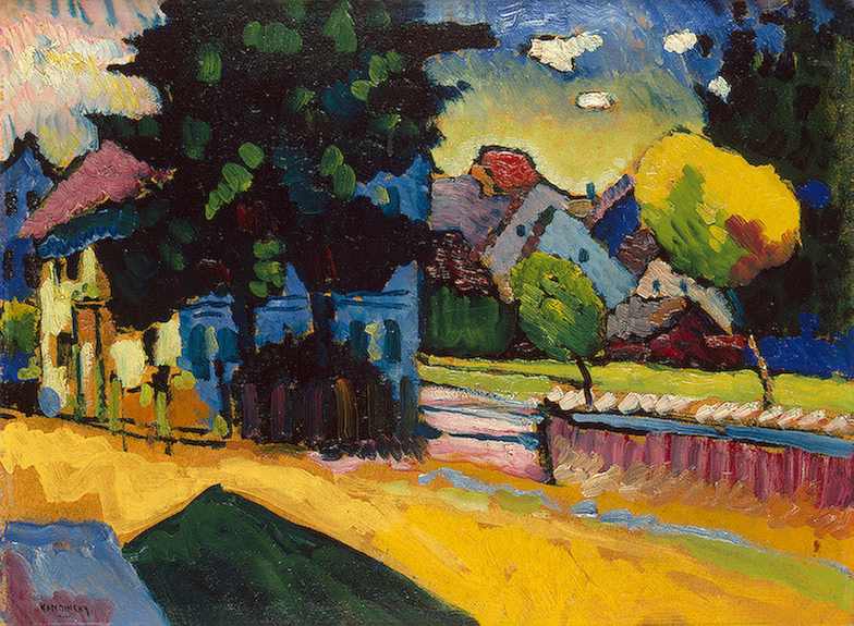 Wassily Kandinsky – View of Murnau, 1908