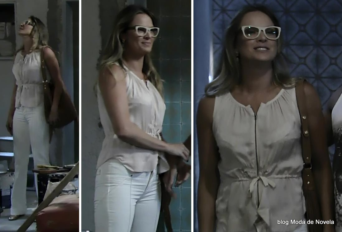 moda da novela Império, look da Érika dia 9 de janeiro de 2015