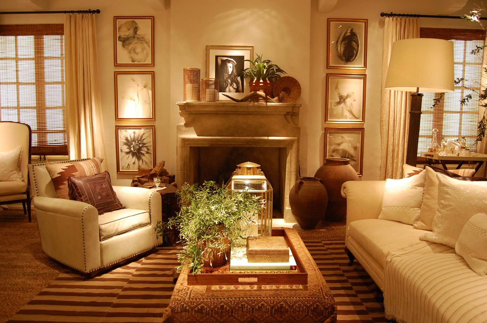 Chic soiree and spring at ralph lauren ellegant home design for Ralph lauren living room designs