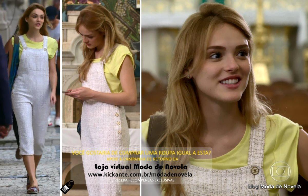 moda da novela Sete Vidas, look da Julia dia 12 de março de 2015