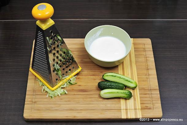 Ingrediente tzatziki