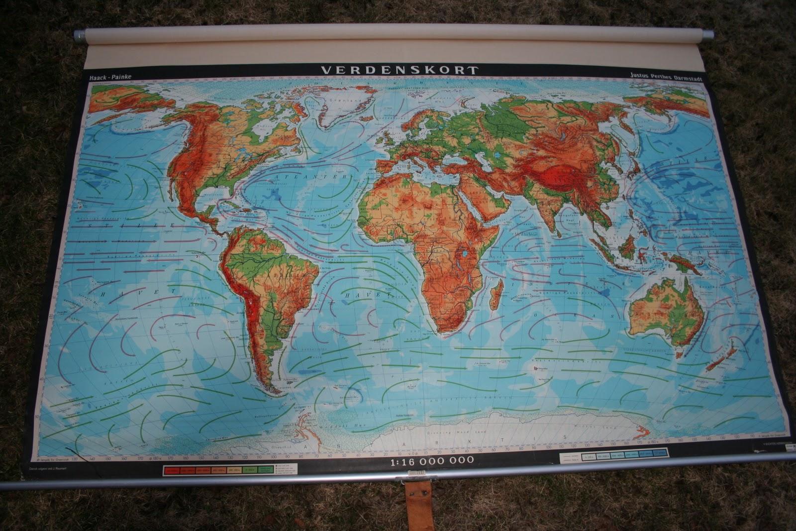 verdenskort til salg