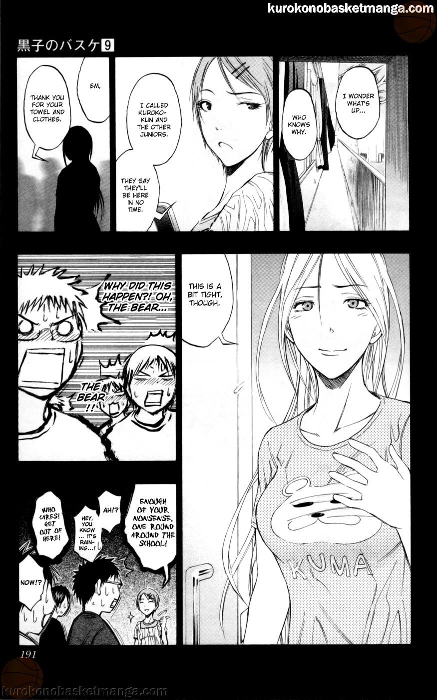 Kuroko no Basket Manga Chapter 80 - Image 05