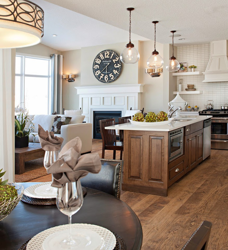 Traditional Open Concept Kitchen: Modern Meets Traditional
