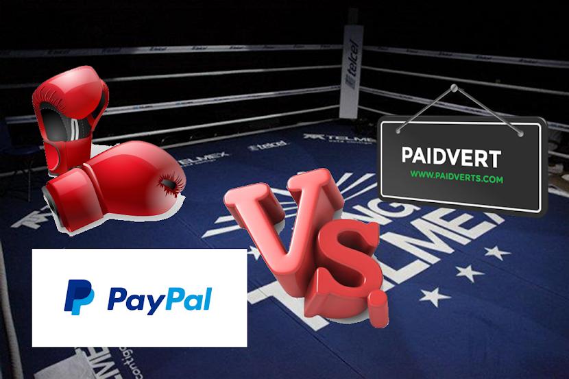 Paypal vs Paidverts