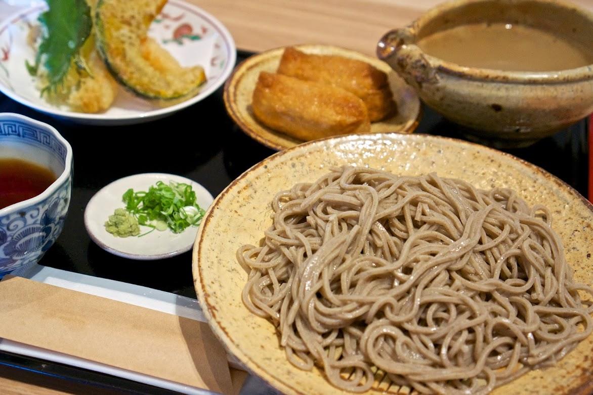 茸天麩羅蕎麦