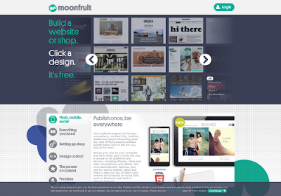 Moonfruit.com free online website builders