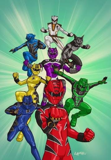 Power Rangers Jungle Fury - 5 anh em siêu nhân