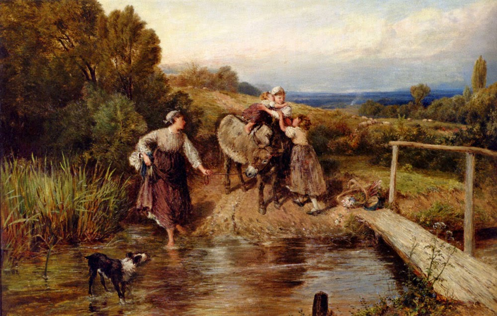 Myles Birket Foster - The Ford