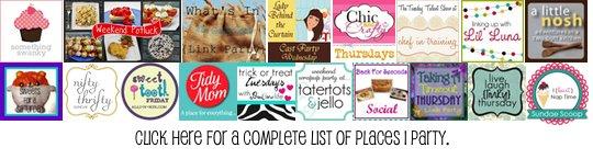 banner logo of various other dessert bloggers