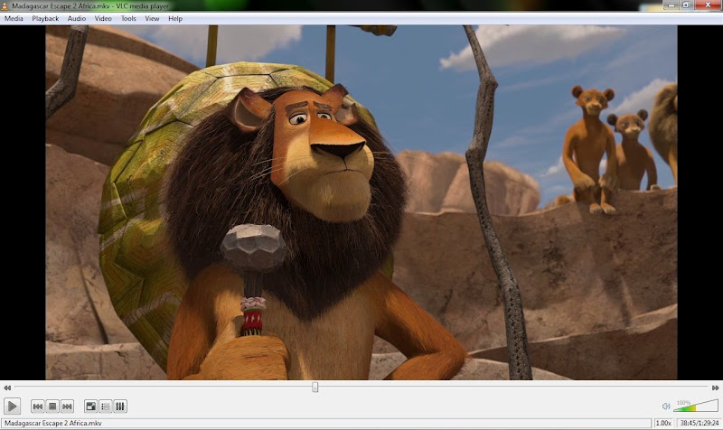 Screenshot of VLC Media Player v.2.0.8 (32-bit) Multimedia Player PC Software Free Download at alldownloads4u.com