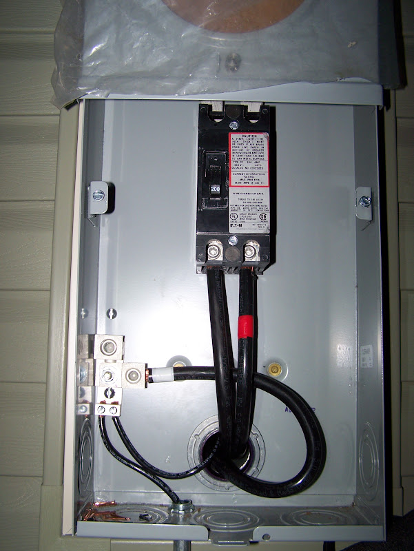 Ground Wire Meter Socket To Panel Doityourself Com Community Forums