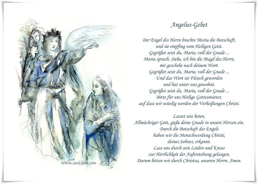 Gebet Engel Des Herrn