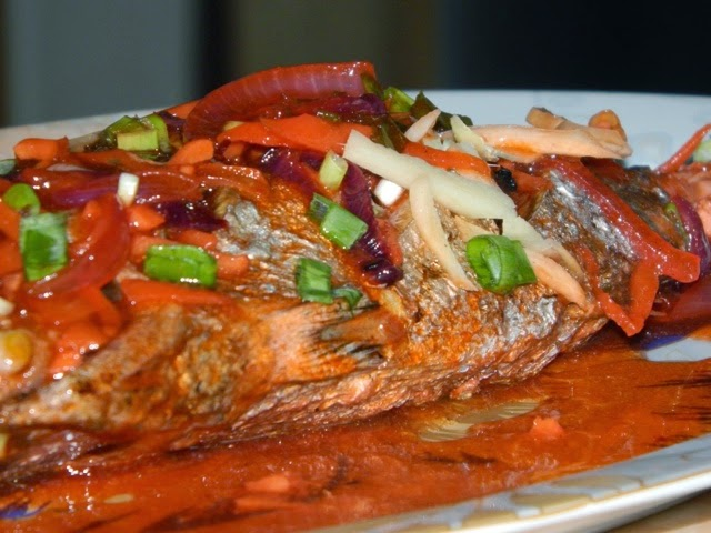 Pinoy recipes for Fish escabeche recipe