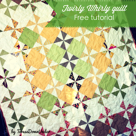 Twirly Whirly quilt tutorial