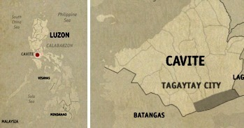 Tagaytay's D-Zone Backpacker's Inn Location