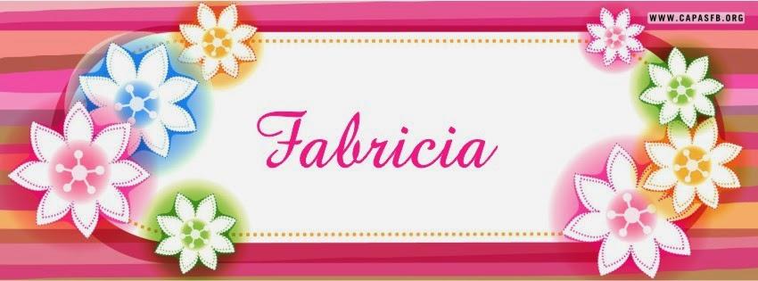 Capas para Facebook Fabricia