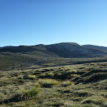 Looking across the Main Range (268538)