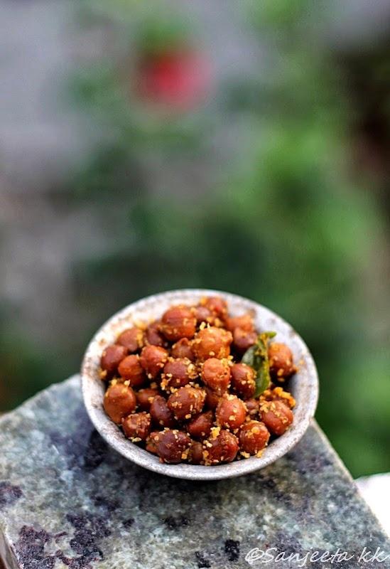 Healthy gram and lentil snacks - Sundal recipes
