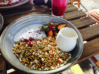 The Attic, Fremantle, WA - Sprouted buckwheat granola