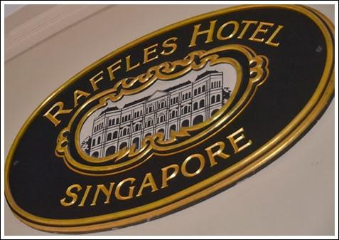 raffles sign