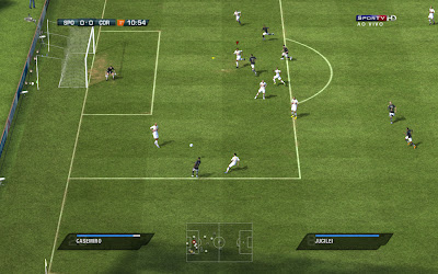 Scoreboard Sportv HD placar para fifa 11