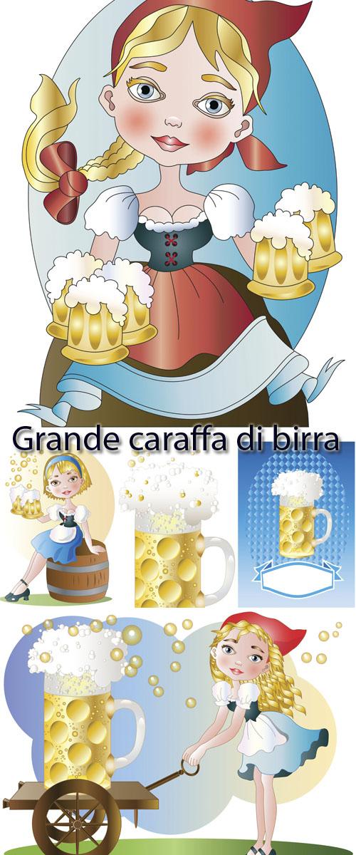 Stock: Grande caraffa di birra