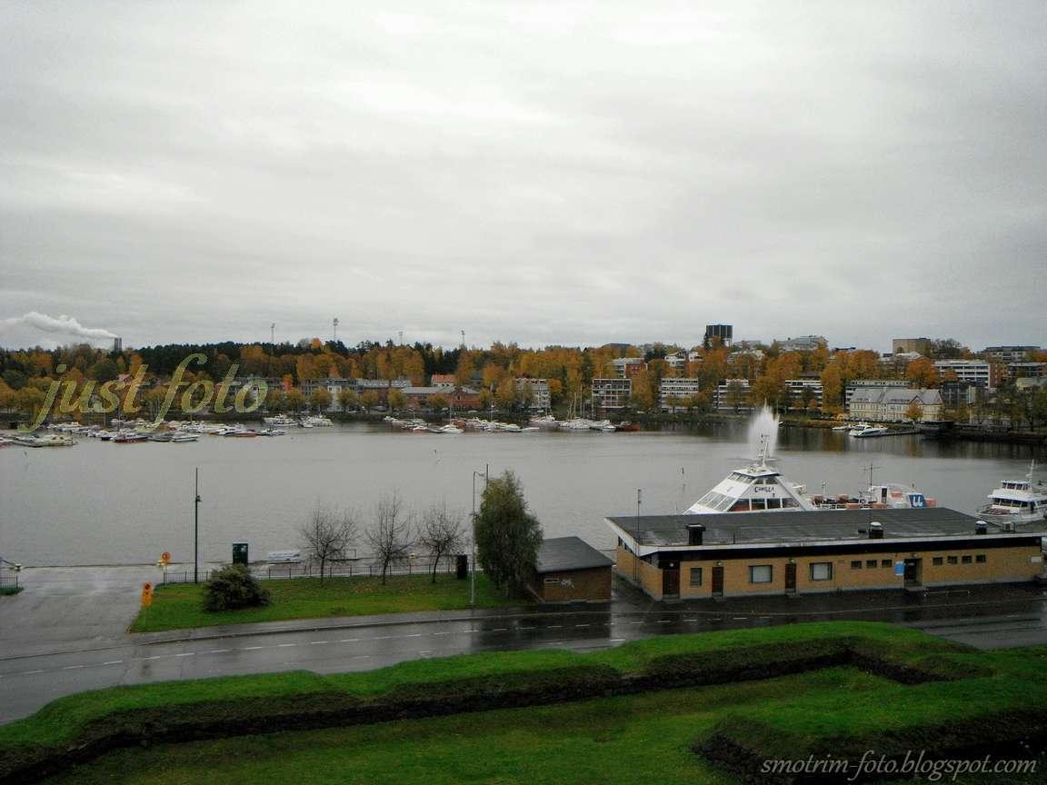 Озеро Сайма в Лаппеенранте фото