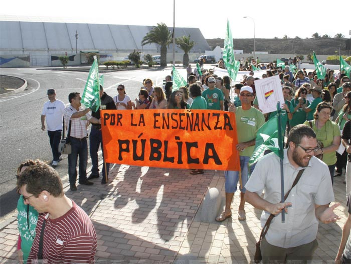 Manifestación Lanzarote (22-V-2012)
