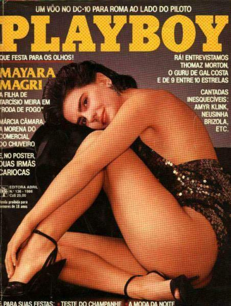 Mayara Magri - Playboy 1986