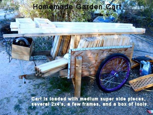 Garden Cart for Beekeeping