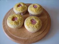 muffins de limón/lemon muffins