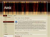 Arise free wordpress theme