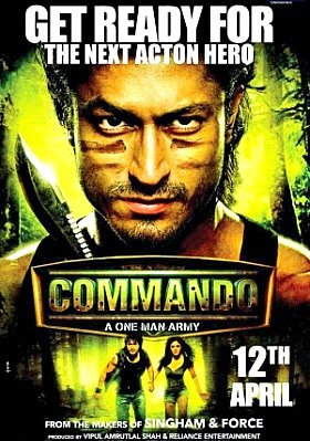 Filme Poster Commando DVDRip XviD & RMVB Legendado