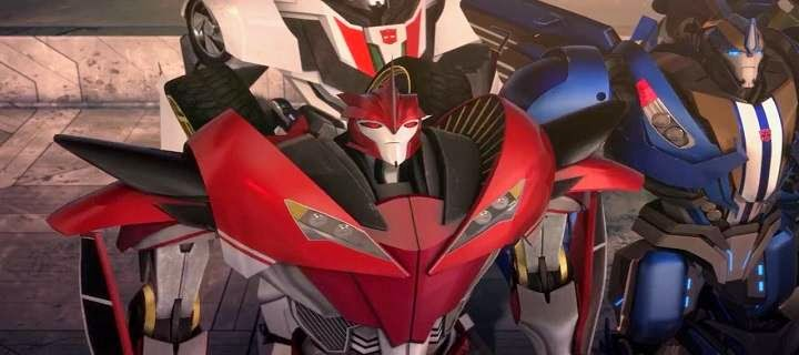 Screen Shot Of Hollywood Movie Transformers Prime Beast Hunters: Predacons Rising (2013) In Hindi English Full Movie Free Download And Watch Online at Alldownloads4u.Com