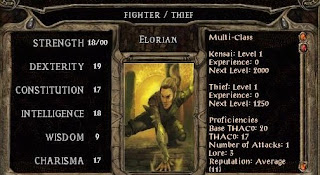 Habilidades en Baldur's Gate